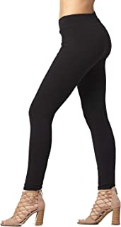 Conceited Premium Soft Cotton Spandex Jersey Leggings -...