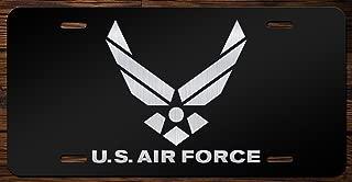 United States Air Force Emblem Vanity Front License Plate Tag KCE085