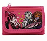 Nueva Monster High rosa Tri-fold cartera