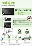 NUISIPRO x3 Boîtes appâts pour Lutter Contre Les Souris (Premier Prix)