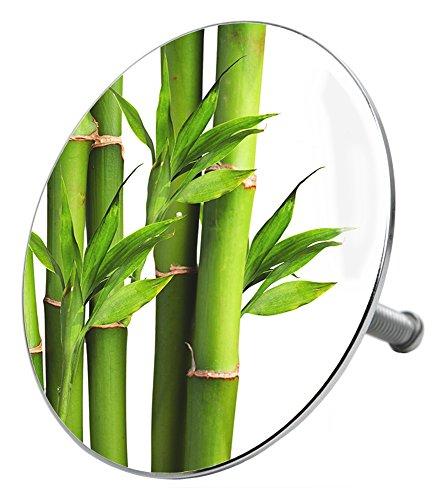 Badewannenstöpsel Bambus, deckt den kompletten Abflussbereich ab, hochwertige Qualität ✶✶✶✶✶