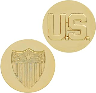 Medals of America Army Adjutant General Branch Insignia with US Insignia Gold
