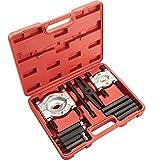 TecTake 12 pcs Ensemble d'extracteurs-décolleurs d'engrenages et de roulements