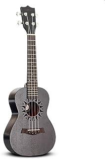 "Ukeleles Instrumentos de Cuerda Ukulele 4 Cuerdas Hawaii Guitarra clásica Caoba Negra Ukuleles 23 ""Audio Aviailable Super Sound Regalo Maravilloso (Color : 23 Electric)"