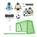 Blue-Yan Juguete de Control Remoto Fútbol Robot para niños Robot programable Inteligente con Infrarrojos Controlador de Juguetes, Bailar, Cantar,...