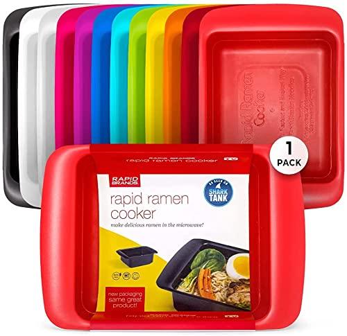 Rapid Ramen Cooker - Microwave Ramen in 3 Minutes...