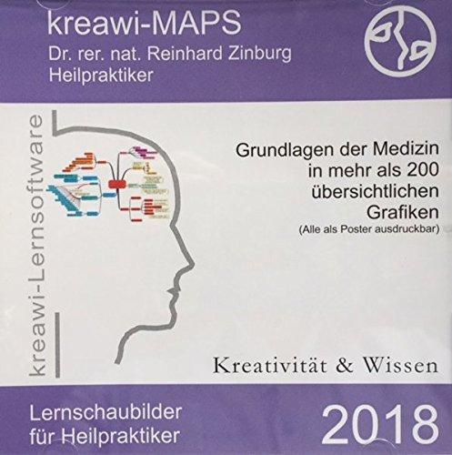 kreawi-MAPS, CD-ROMGrundlagen der Medizin in über 200 übersichtlichen Grafiken. (Alle als Poster ausdruckbar)