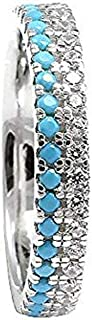 Best turquoise eternity ring Reviews