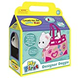 Creativity for Kids Designer Doggie - Decorate and Play, Plush Dog Toy and Carrier Purse