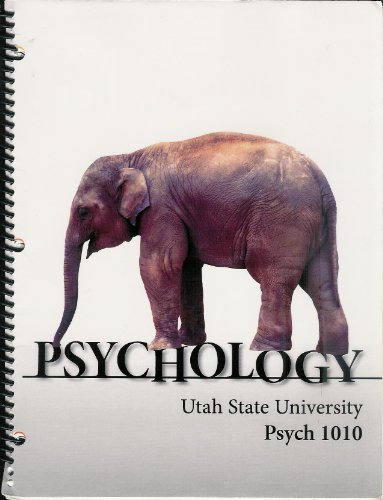 Psychology 1010: Utah State University