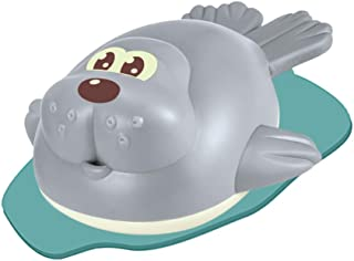 TOYANDONA Wind Up Bath Toy Baby Shower Toy Cartoon Swimming Bathing Toys Sea Lions Bathtime Toy Bath Supply for Bathroom H...