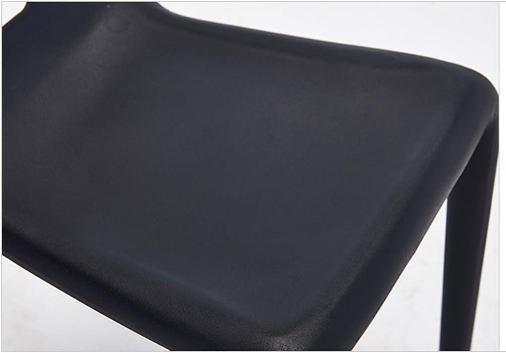 HXF- Chaise de Salle à Manger Moderne créative Chaise d'accueil en Plastique Simple Durable (Color : B) C