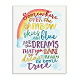 Stupell Industries Somewhere Rainbow Wall Plaque, 10x15, Design By Artist Erica Billups