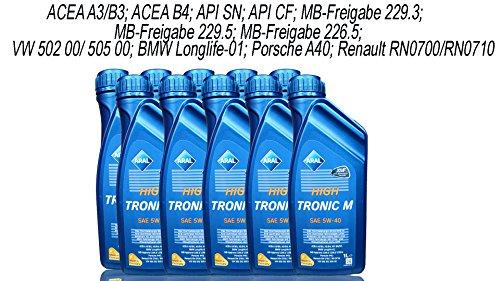 ARAL High Tronic M 5W-40 10x1 Lite