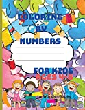 Coloring by numbers for kids ages 4-8