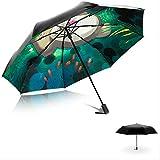 HHBB Paraguas plegable del paraguas de la protección ULTRAVIOLETA del paraguas de la señ