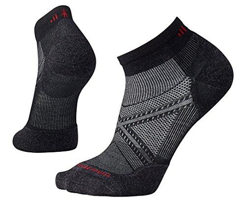 Smartwool Herren PhD Run Light Elite Low Cut Socks PhD Run Light Elite Low Cut, Schwarz (Black), L (Herstellergröße: L)