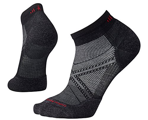 Smartwool Herren PhD Run Light Elite Low Cut Socks PhD Run Light Elite Low Cut, Schwarz (Black), L (Herstellergröße: L)