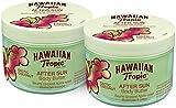 Hawaiian Tropic AfterSun Body Butter Exotic Coconut - Crema Corporal After Sun con Aroma Fresco de Coco, Fórmula Hipoalergénica de Hidratación Intensa, Pack 2 Unidades x 200 ml