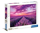 Clementoni Collection-Lavander Field-Puzzle Adulti 1000 Pezzi, Made in Italy, Multicolore, 39606