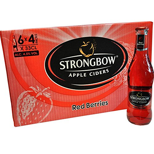 Strongbow Apple Ciders - Red Berries 4,5% Vol. 24x330ml.