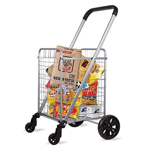 OmniRolls Grocery Shopping Cart with Swivel Wheels