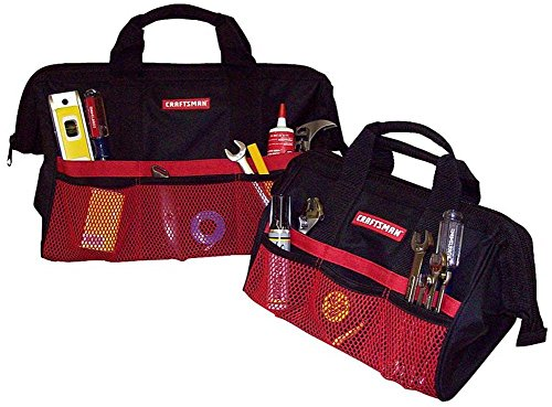 Craftsman 9-37537 Tool Bag Combo, 13'/18'
