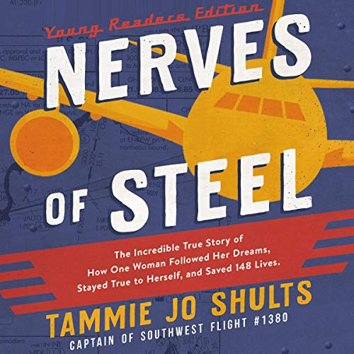 Nerves of Steel (Young Readers Edition) audiobook cover art