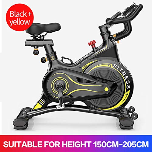 Indoor Cycling Bike Spinning Bicycle, Ultra-Quiet Fitness Bike And Ab Trainer, Speedbike with No-noise Belt Drive System, Verstelbare stoel