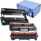 KATRIZ TN2420 Tóners de Repuesto + 1 Unidad de Tambor DR2400 Compatible Para Brother HL-L2310D HL-L2350DN HL-L2370DN HL-L2375DW DCP-L2510D DCP-L2530DW MFC-L2710DN MFC-L2730DW MFC-L2750D