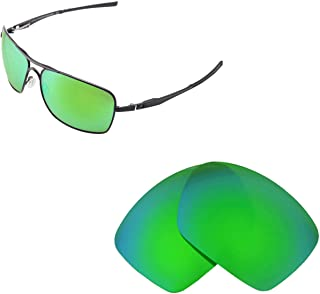 Walleva Replacement Lenses for Oakley Plaintiff Squared Sunglasses - Multiple Options Available