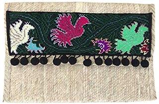 Epifanía MX   Baguette de Palma de Guerrero con bordados de Quintana Roo, Pájaros