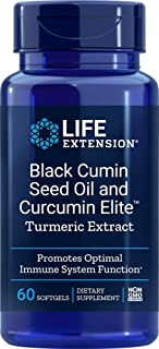 Sponsored Ad - Life Extension Black Cumin Seed Oil & Curcumin Elite Turmeric Extract, 60 Softgels
