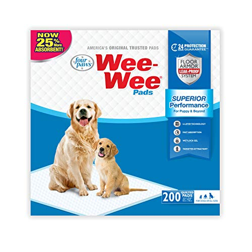 Wee-Wee Puppy Training Pee Pads for Pugs