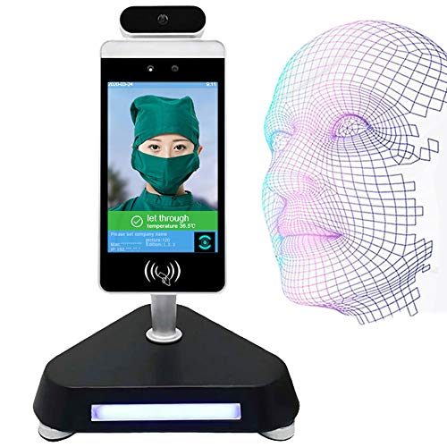 GODLV 8 Zoll Gesichts Anerkennung Kamera Termal IP Kamera Thermische Menschlichen Körper Temperatur Erkennen Access Control Thermo Kamera