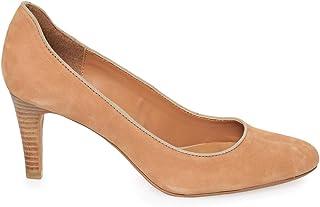 Eram Brown Heel Pump Shoes For Women