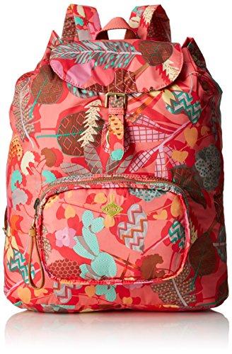 Oilily Damen Folding Classic Backpack Rucksack, mehrfabig 16x41x33 cm