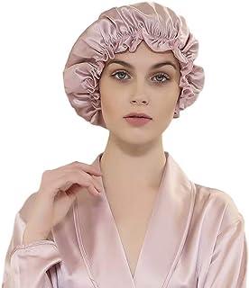 Alaix ナイトキャップ 天然シルク100% 蘇州からの絹織物 就寝用帽子 室内帽子 つや髪 保湿 (ロングヘア用) 美髪