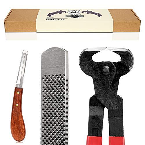 Hoofere Professional Farrier Tool Kits Hoof rasp hoof Nippers hoof