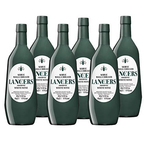 Vino Lancers Blanco de 75 cl - D.O. Setubal - Bodegas Gonzalez Byass (Pack de 6 botellas)