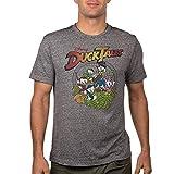 Disney DuckTales Scrooge McDuck Huey, Dewey, Louie Burnwash Adult T-Shirt (M)