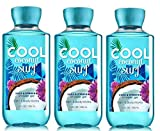 Bath and Body Works Cool Coconut Surf - Shower Gel Lot of 3 - Full size