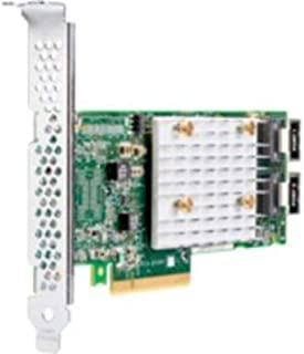 HPE Smart Array E208i p SR Gen10   Speichercontroller (RAID)   8 Kanal   SATA 6Gb/s/SAS 12Gb/s   12Gbit / s   RAID 0, 1, 5, 10   PCIe 3.0 x8   für ProLiant DL325 Gen10, DL380 0, DL38 8 Gen.