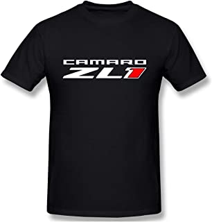Macwe Camaro ZL1 Casual T Shirt Short Sleeve Tee for Men