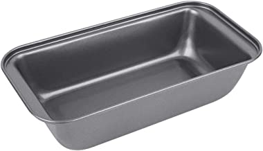 Bulfyss Baking Tray 25.5 cm Bakeware, Steel (Black)