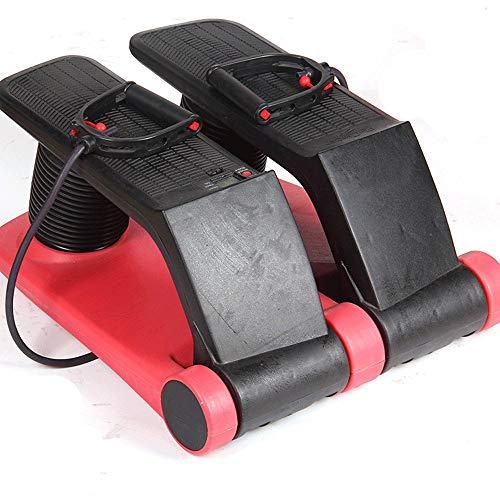 LYDIANZI Stepper für zuhause Air Stepper Climber, Fitnessgerät Resistant Cord Air Step, Aerobic-Maschine Stepper Trainingsgeräte mit CD Übung Abnehmen Maschine