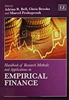 Handbook of Research Methods and Applications in Empirical Finance (Handbooks of Research Methods and Applications)