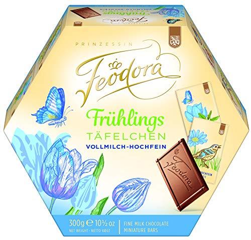 Feodora FrühlingsTäfelchen Vollmilch-Hochfein-Schokolade, 1er Pack (1 x 300 g)