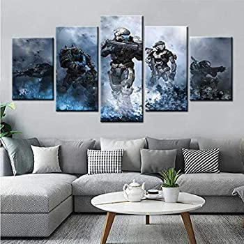 Best halo wall art Reviews