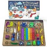 Settoo Nueva Fidget Toy Pack, Juego De Juguetes Calendario De Adviento Calendario De Cuenta Regresiva De Navidad Regalo De Cuenta Regresiva De 24 Días para Niños, Paquete De Regalo